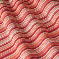 Вулична тканина для покривал і подушок в тонку червоно-бордову смугу зі 100% акрилом Іспанія 400338v1