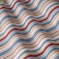 Вулична тканина для покривал подушок в червону і блакитну смугу Іспанія 400339v2