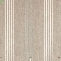 Тюль з тонкими ясно-бежевими смужками на горіхово-коричневому Іспанія 400310v1