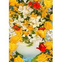Квітковий папір 45
