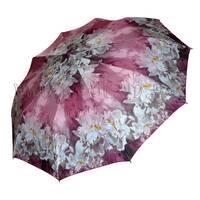 Женский зонт Zest Лиловые цветы ( автомат, 10 спиц ) арт. 53616-25