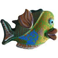 Іграшка з гіпсу Рибка