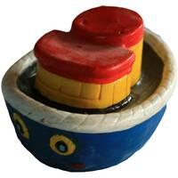 Гіпсова іграшка Кораблик