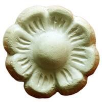 Декоративна квітка з гіпсу Де/004