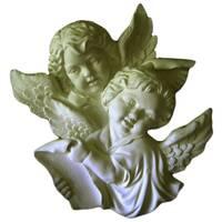 Декоративні ангели з ліпнини Де/097