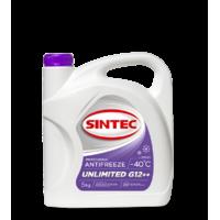 Антифриз Sintec UNLIMITED G12 + +, (-40),   1л, красн