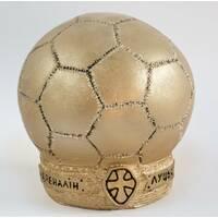 Гіпсова статуетка футбольний м'яч Ст/008