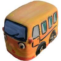 Гіпсова іграшка Автобус