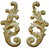 Gypsum decorative moulding  Де/063 П/Л