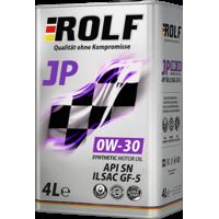 Моторне мастило Rolf JP SAE 0W-30 ILSAC GF-5/API SN, 4л, синтетичне