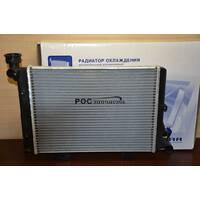 Радиатор охлаждения 2106 SPORT (алюм-паяный) (LRc 0106b) ЛУЗАР