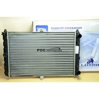 Радіатор охолодження 2108 (алюм) (LRc 01080) ЛУЗАР