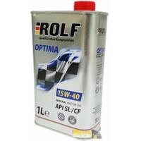 Масло ДВС 15W-40, Rolf, Optima SL/CF,   1л, mineral oil