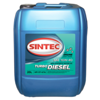 Масло моторное 10W-40, Sintec, TRUCK Turbo Diesel CF-4/CF/SJ,  20л, п/синт