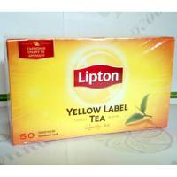 Чай Lipton Yellow Label 50*2г черный (16)