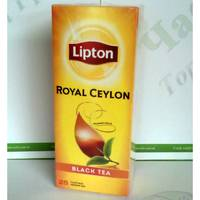 Чай Lipton Royal Ceylon 25*2г черный (24)