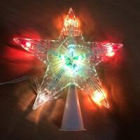 Звезда-наконечник / верхушка на елку / -м-10л