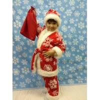 Новогодний костюм Санта Клауса (мех)