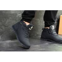 Кожаные мужские кроссовки Timberland зима купить оптом