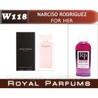 Жіночі духи на розлив Royal Parfums Narciso Rodriguez ( For her)  №118  100мл