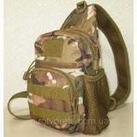 Тактична сумка плечова (рюкзак однієї лямки)
