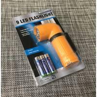 Ліхтарик Effactive 9 led / АХ11 / 80