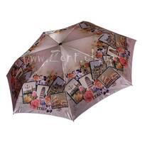 Женский зонт Три Слона САТИН (полный автомат, ЛЕГКИЙ) арт.363-23