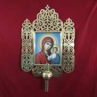 Запрестольні хрести, ікони