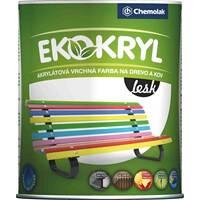 """Фарба акрилова """" EKOKRYL"""" глянцева зелена 0,6 л. (0,77 кг)"""