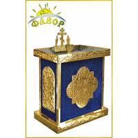 Стіл панахида 100 свічок під ПІСОК_оксамит (розбірний)