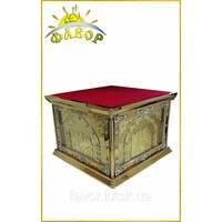 Престол — № 4 — 150х150 см литье (литые иконы)