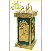Стол панихидный 50 свечей бархат (разборный)