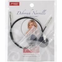 Змінний кабель для спиць 80см від Deborah Norville