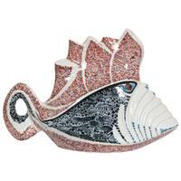 Керамічна фігурка Риба Лицар