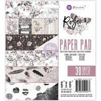 Набір паперу 15х15см від Prima Marketing - Rose Quartz