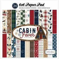 Набір паперу 15х15см Carta Bella - Cabin Fever