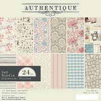 Набір паперу 15х15см Authentique