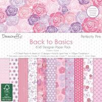 Набір паперу 15х15см від Dovecraft - Perfectly Pink