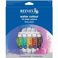Акварельні фарби Reeves Assorted Colors Професійні в тюбиках 10 мл 18 шт (780804850901)
