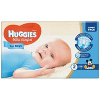 Подгузники Huggies Ultra Comfort For Boys 3.56 шт. 5-9 кг.