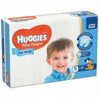 Подгузники Huggies Ultra Comfort For Boys 5.42 шт. 12-22 кг.