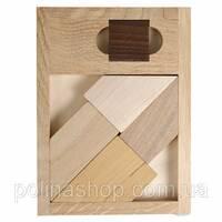 Деревянная головоломка Чёрный квадрат Заморочка  XL