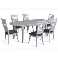 Комплект стол Маркиз-2 + стулья Маркиз-2 белый купить во Львове
