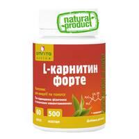 L-карнитин форте, 60 капс. по 500 мг