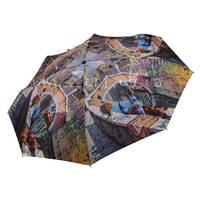 Женский МИНИ-зонт TRUST (полный автомат, 4 сложения) арт. 42376-7