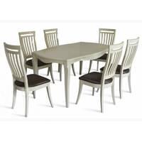 Комплект стол Маркиз-2 + стулья Маркиз-2 слоновая кость купить в Украине