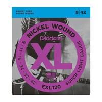 D`ADDARIO EXL120 XL SUPER LIGHT (09-42)