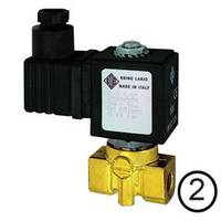 Solenoid valves, open when de-energised, directly operated