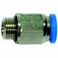 Male connectors, male thread »Blue Series«