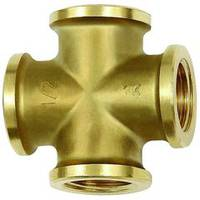 Crosses - Brass with a bare metal surface